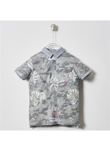 Panço Erkek Çocuk Pike T-shirt 2011BK05042 Yeşil